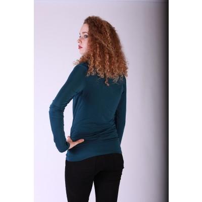 Foto van Shirt top lange mouw Mariola blauw