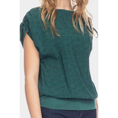 Foto van ATO Berlin | Shirt Mona groen met rendiertjes print