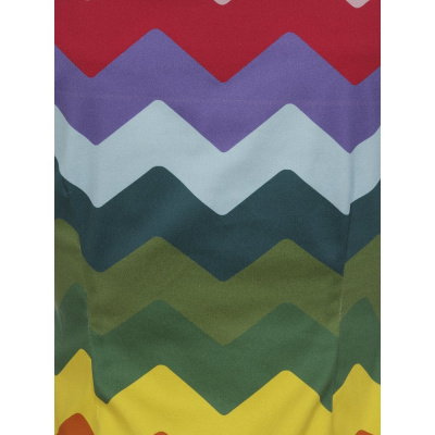 Foto van Collectif | Top Dolores Rainbow Chevron