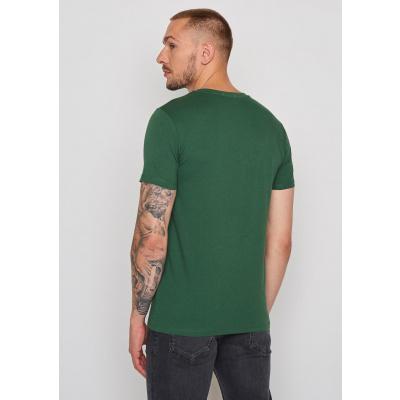 Foto van Green Bomb | T-shirt Bike Cyclist, bio katoen bottle green