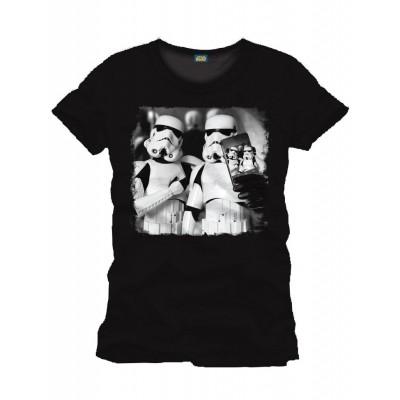 Foto van T-shirt Stormtrooper Selfie