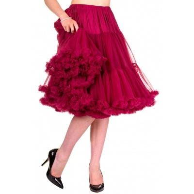 Foto van Petticoat Lifeforms Kuitlang met extra volume, bordeaux