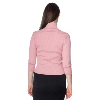 Foto van Coltruitje Louise ribbed knit, roze
