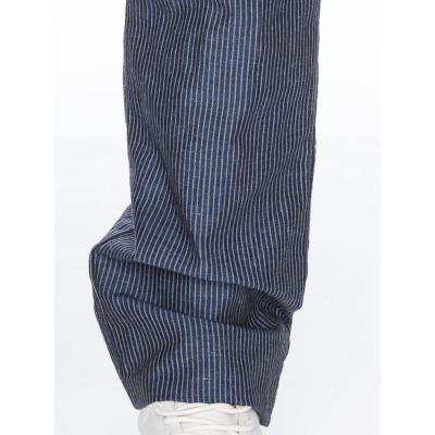 Foto van ATO Berlin | Pantalon Balou blauw met witte pin-stripe