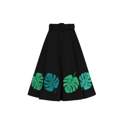 Foto van Rok Tropical Palm Swing, zwart