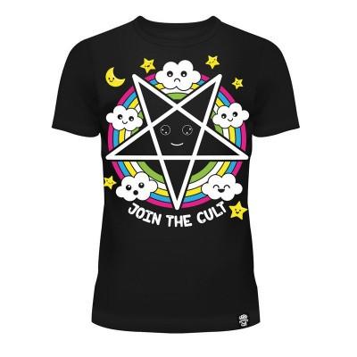 Foto van T-shirt Join The Cult, zwart
