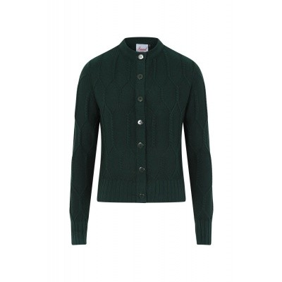 Foto van Cardigan Midnight daze, forest groen