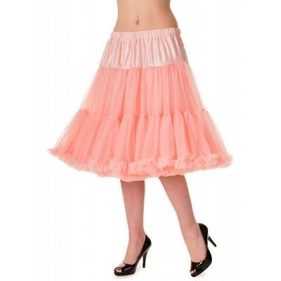 Petticoat Starlite over de knie met extra volume Roze