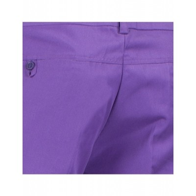 Foto van Chenaski Pantalon paars met uitlopende pijpen
