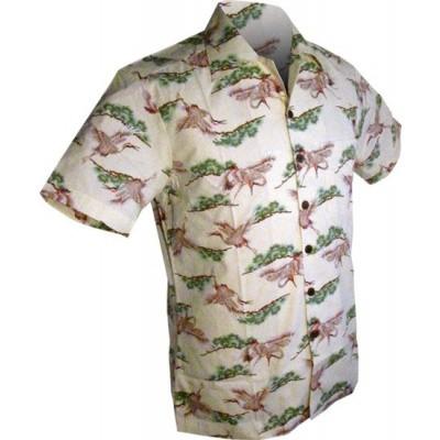 Foto van Overhemd korte mouw, Crane, crème