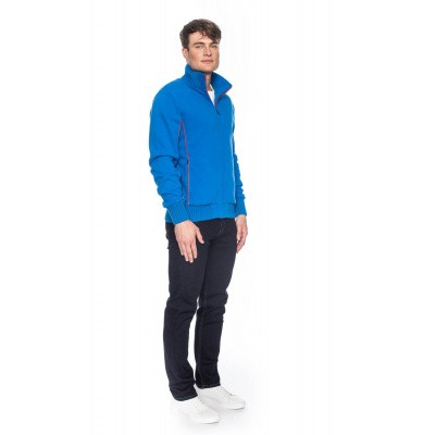 Foto van ATO Berlin, sportjas Boy blauw met rode biezen