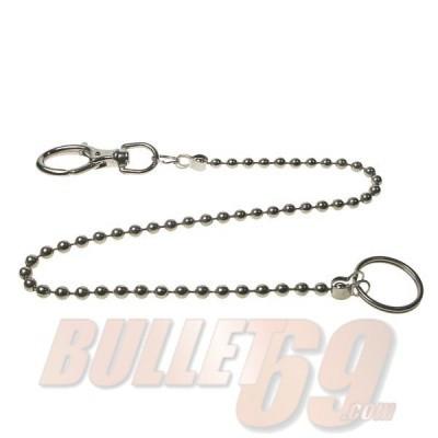 Foto van Bullet69 - Sleutelhanger met metalen bolletjes ketting