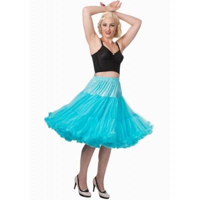 Foto van Petticoat Lifeforms Kuitlang met extra volume, blauw