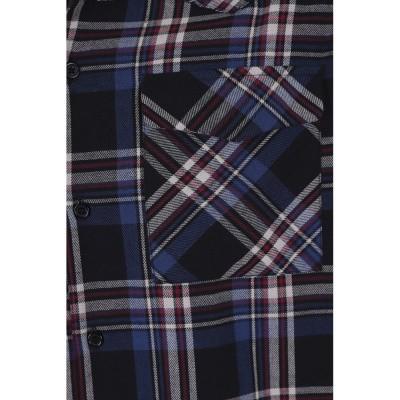 Foto van Overhemd Tiago, lange mouw, schotse ruit, tartan blauw