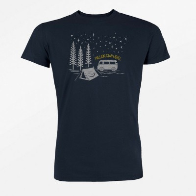 Foto van T-shirt Nature Million Star, navy