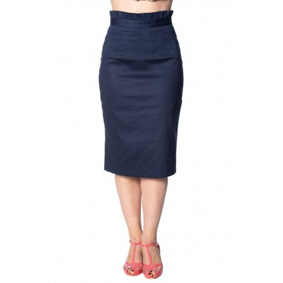 Rok Sail Away, navy met ruche
