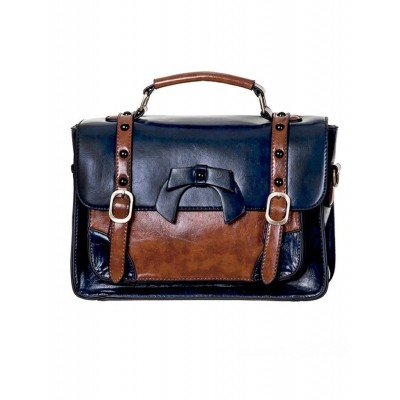 Foto van Handtas Buckle With Bow Retro Blue
