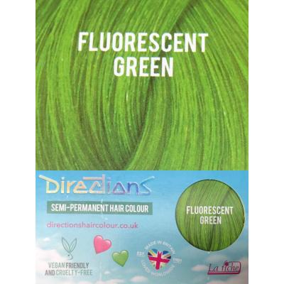 Foto van Directions | Semi Permanente Haarverf Fluorescent Green