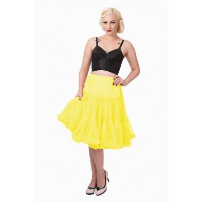 Foto van Petticoat Lifeforms Kuitlang met extra volume, geel