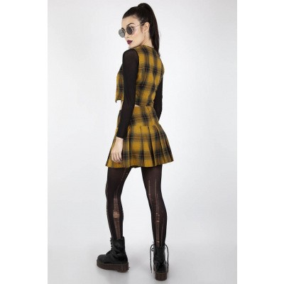 Foto van Rok Teen Spirit, gele tartan