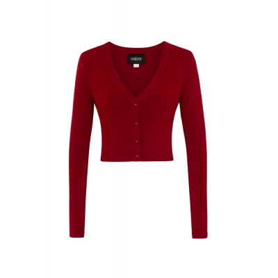 Foto van Collectif | Cardigan Kimberley bordeaux