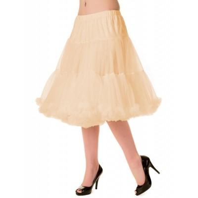 Foto van Petticoat Starlite over de knie met extra volume, champagne