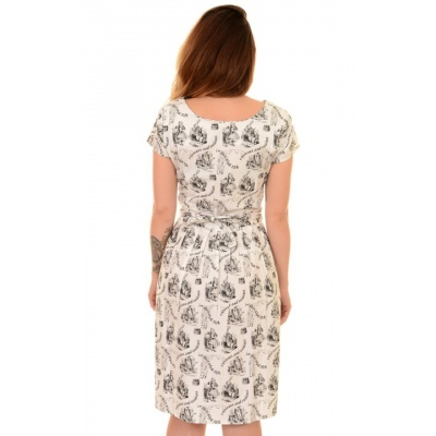 Foto van Jurk retro alice in wonderland 50s 60s tea-partydress