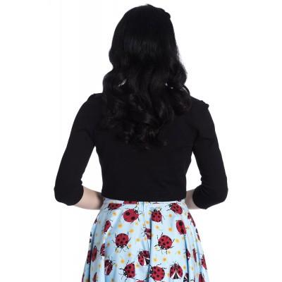Foto van Bolero Maggie, zwart met drie-kwart mouw
