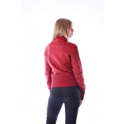 Foto van Vest Nel, rood met steekzakken