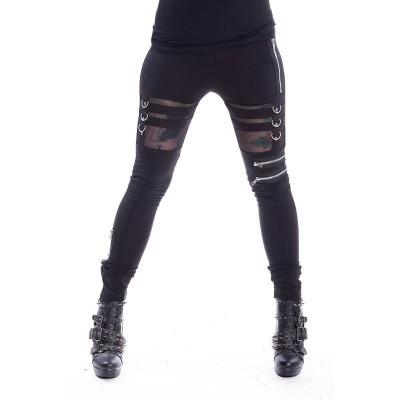 Foto van Legging Inka, met cut-out detail, zwart