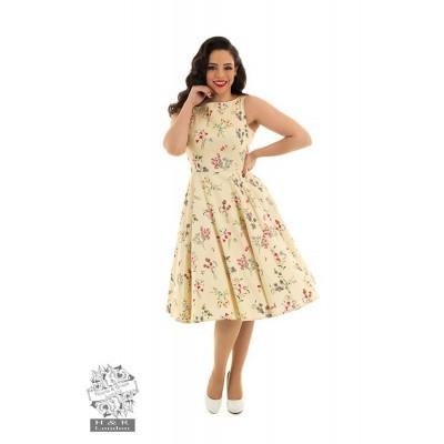 Foto van Hearts & Roses - Swingjurk Bridget bloemen print