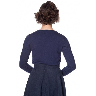 Foto van Cardigan Space Vamp, navy