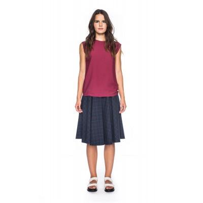 ATO Berlin, shirt top Femke roze rood
