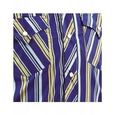 Foto van Overhemd Cowboy Blue Stripes