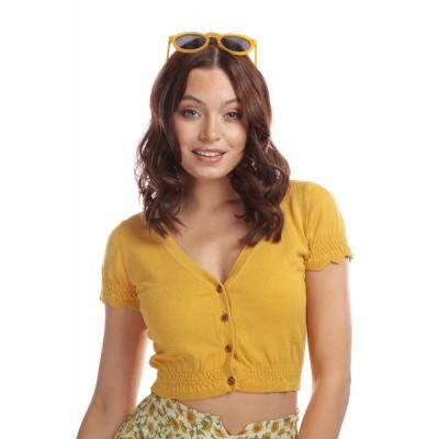 Cardigan Nigela, geel