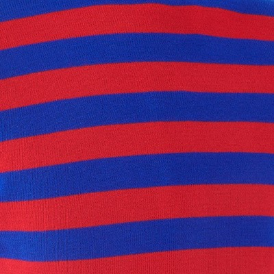 Foto van Retro trui, rood blauw gestreept