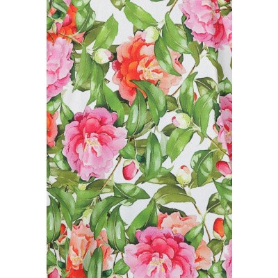 Foto van Hearts & Roses - Swingjurk Penny, met roze rozen