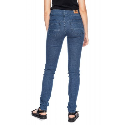 Foto van Jeans Kandy blauw used wassing