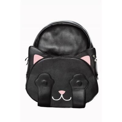Foto van Rugtas tricks met kattengezicht en pootjes