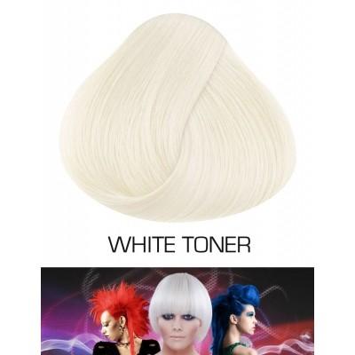 Semi Permanente Haarverf White Toner (voor gebleekt haar)