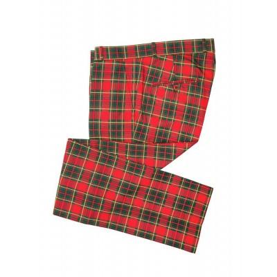 Foto van Pantalon rode Tartan