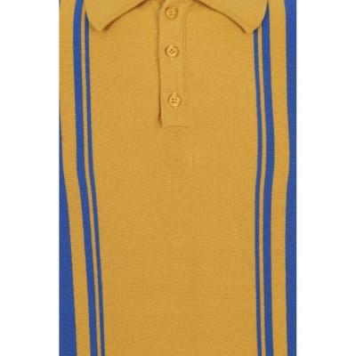 Foto van Polo Pablo, geel met blauwe streep