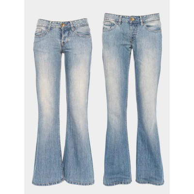 ATO Berlin | Jeans Fred lichte denim flared, biokatoen
