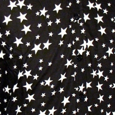 Foto van Overhemd Retro, stars black
