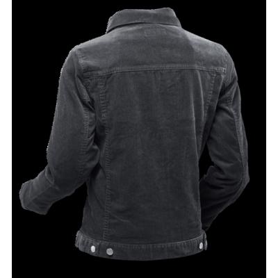 Foto van Ribcord retro jas Zwart