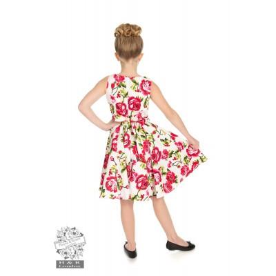 Foto van Kinderjurk Sweet rose swing model