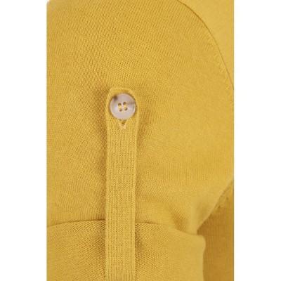 Foto van Polo Jorge, effen met knopen en borstzakje, geel