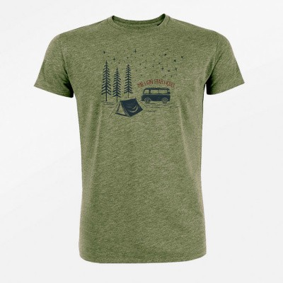 Foto van T-shirt Nature Million Star, khaki