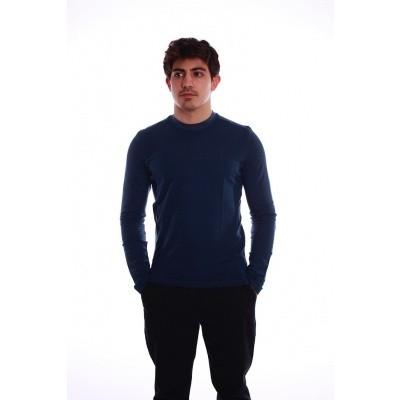 Foto van Shirt met lange mouw Nils donkerblauw