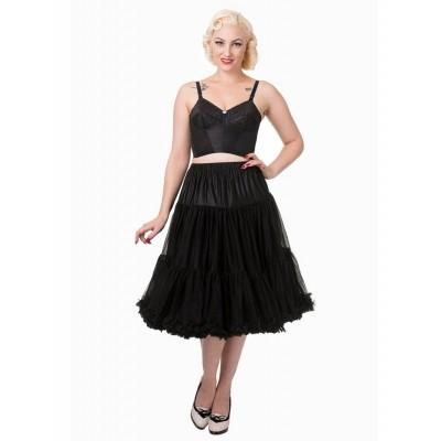 Foto van Petticoat Lifeforms Kuitlang met extra volume Zwart